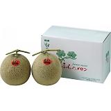 北海道産 富良野赤果肉メロン2玉