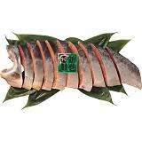 北海道礼文島産 新巻鮭切身(半身・1.2kg)