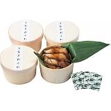 うなぎ工房のうなぎおこわ(4食)