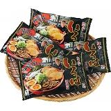 富山ブラックラーメン「麺家いろは」(8食)