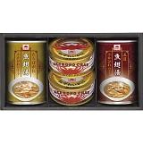 あけぼの ふかひれスープ&かに缶詰詰合せ FZ-30