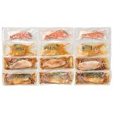 氷温熟成 煮魚焼き魚詰め合せ4種12切 OS-120