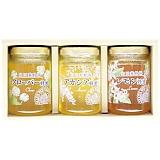 山田養蜂場 厳選蜂蜜3本セット G3-30CAL