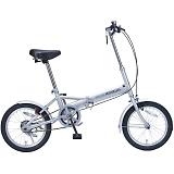 My Pallas マイパラス M-101-SL 16インチ 折り畳み自転車16インチ シルバー