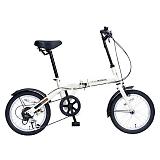 My Pallas マイパラス M-103-IV 16インチ 6段変速 折り畳み自転車16インチ アイボリー