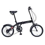 My Pallas マイパラス M-103-BK 16インチ 6段変速 折り畳み自転車16インチ ブラック