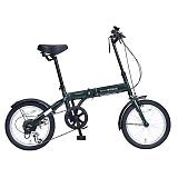 My Pallas マイパラス M-103-GR 16インチ 6段変速 折り畳み自転車16インチ グリーン