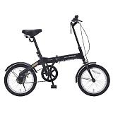 My Pallas マイパラス M-100-BK 16インチ 折り畳み自転車 ブラック