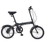 My Pallas マイパラス M-100-GR 16インチ 折り畳み自転車 グリーン