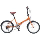 My Pallas マイパラス M-209-OR 20インチ 6段変速 折畳自転車 オレンジ