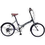 My Pallas マイパラス M-205-GR 20インチ 6段変速 折畳自転車 セージグリーン
