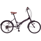 My Pallas マイパラス M-205-PP 20インチ 6段変速 折畳自転車 ディープパープル
