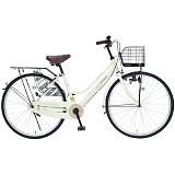 My Pallas マイパラス M-514-IV 26インチ シティサイクル ベーシック自転車 アイボリー