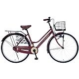 My Pallas マイパラス M-514-BR 26インチ シティサイクル ベーシック自転車 ブラウン