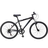 My Pallas マイパラス M-620N-BK マウンテンバイク26インチ フロントサス付 6段変速自転車 ブラック