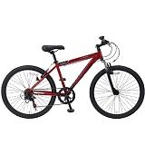 My Pallas マイパラス M-620N-RD マウンテンバイク26インチ フロントサス付 6段変速自転車 レッド