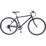 My Pallas マイパラス M-604-BK クロスバイク 700C 6段変速 自転車 ブラック