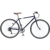 My Pallas マイパラス M-604-BL クロスバイク 700C 6段変速 自転車 ブルー