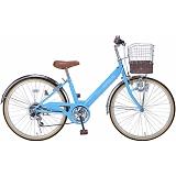 My Pallas マイパラス M-811-BL 子供用自転車 24インチ 6段変速 ブルー
