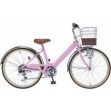 My Pallas マイパラス M-811-PK 子供用自転車 24インチ 6段変速 ピンク