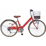 My Pallas マイパラス M-811-RD 子供用自転車 24インチ 6段変速 レッド