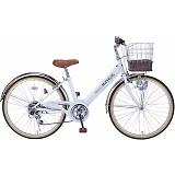 My Pallas マイパラス M-811-WH 子供用自転車 24インチ 6段変速 ホワイト