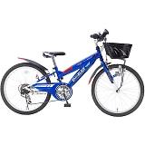 My Pallas マイパラス M-822Z-BL 子供用自転車 22インチ 6段変速 CIデッキ付 ブルー