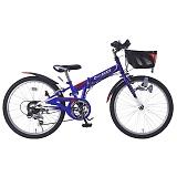 My Pallas マイパラス M-822F-BL MTB 24インチ 6段変速 子供用 折畳自転車 ブルー