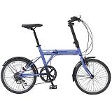 ACTIVEPLUS911 アクティブプラス911 FDB206SF 20インチ 6段変速 ノーパンク 折畳自転車 ブルー MG-G206NF-BL