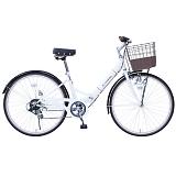 CITROEN CITY FDB266SG シトロエン 26インチ 6段変速 軽快折畳自転車 MG-CTN266G