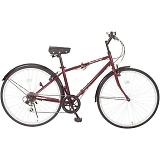 Classic Mimugo FDB700C 6S クラシックミムゴ (約27インチ) クロスバイク 6段折畳自転車 MG-CM700C