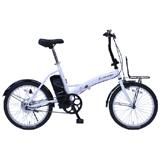 CITROEN シトロエン 20インチ 電動アシスト折畳自転車 ホワイト MG-CTN20EB TM-FDB200E