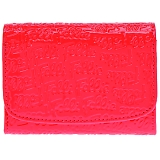 FOLLI FOLLIE フォリフォリ ファスナー小銭入付 二つ折り財布 ピンク WA0L026SP/PNK