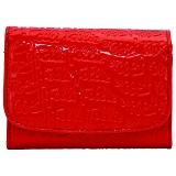 FOLLI FOLLIE フォリフォリ ファスナー小銭入付 二つ折り財布 レッド WA0L026SR/RED