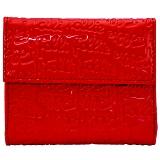 FOLLI FOLLIE フォリフォリ 小銭入れ付 三つ折り財布 レッド WA0L027SR/RED