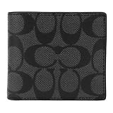 コーチ F75006/CQ/BK/1 二つ折り財布