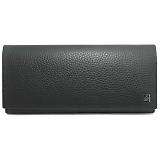 DUNHILL ダンヒル ヨーク ファスナー長財布 ブラック L2L710A