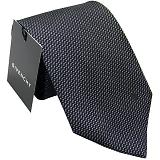 GIVENCHY ジバンシー ネクタイ ブラック×ブルー系 CR8GT020X1