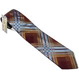 ヴィヴィアンウエストウッド ネクタイ ブルー×ダークレッド系 24t85-p43color5