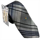 ヴィヴィアンウエストウッド ネクタイ (先端幅スリム約7cm) グレー系 24t70-p42color6slim