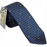 ヴィヴィアンウエストウッド ネクタイ (先端幅スリム約7cm) ブルー系 24t70-p40color5slim
