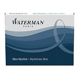 WATERMAN ウォーターマン カートリッジインクSTD23 1本 1.4ml ミステリアスブルー(ブルーブラック) S2270220