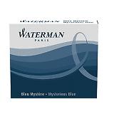 WATERMAN ウォーターマン ミニカートリッジインク 1本 0.7ml ミステリアスブルー(ブルーブラック) S2270420