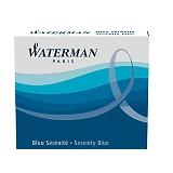 WATERMAN ウォーターマン ミニカートリッジインク 1本 0.7ml セレニティブルー(フロリダブルー) S2270430