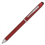 CROSS クロス テックスリープラス AT0090-13 トランスルーセントレッドラッカー 複合ペン