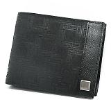 DUNHILL ダンヒル ディーエイト 二つ折り財布 ブラック L2LH32A (新OG3070A)