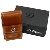 DUPONT デュポン ライン2ライター用 レザーライターケース ブラウン 180124