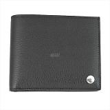 DUNHILL ダンヒル  BOSTON ボードン 二つ折り財布 ブラック L2V330A