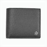 DUNHILL ダンヒル  CADOGAN カドガン 小銭入れ付 二つ折り財布 ブラック L2AC32A