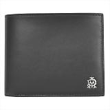 DUNHILL ダンヒル  WESSEX ウェセックス 二つ折り財布(小銭入れ有) ブラック L2AS32A